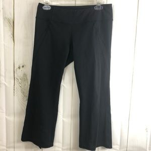 Athlete yoga capris black Sz small